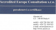 Accredited Europe Consultation, s.r.o.