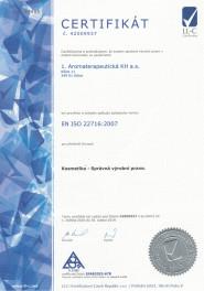 1. Aromaterapeutická KH a.s.